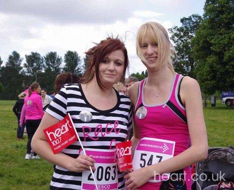 Race for Life - Shrewsbury 22/5/11