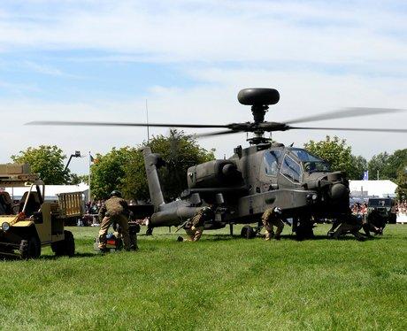 Apaches At Suffolk Show 2