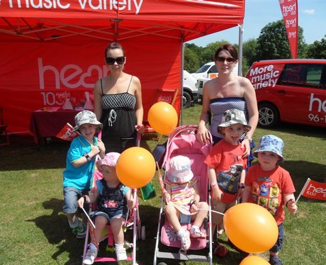 Heart Angels at Picnic in the Park!