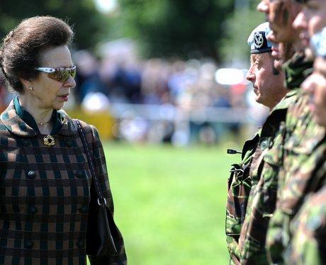 Princess Anne At Suffolk Show
