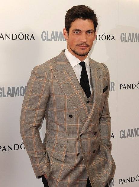 David Gandy on the red carpet