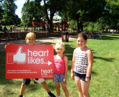 Heart Thames Valley 'Likes' Berkshire...