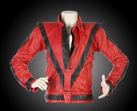 Jack's red leather Thriller jacket