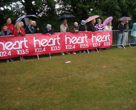 The weather didn't get us down at Eastbourne's rac