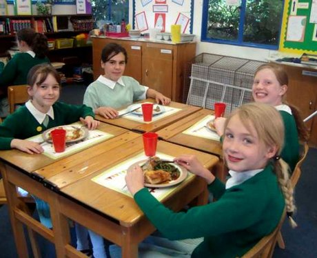 School Dinners Tour at The Highlands School