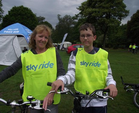 SkyRide in Bath 2011