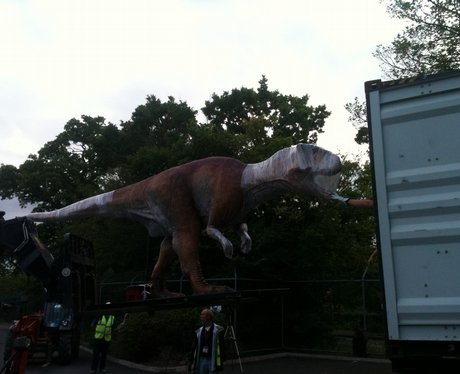 Dinosaurs at Chester Zoo.
