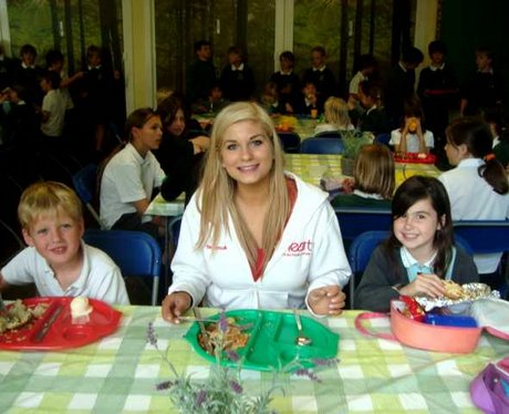 School Dinners Tour at Long Crendon School