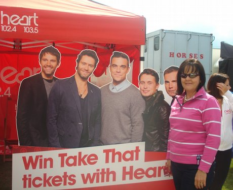 The Heart Angels visited the South Of England show