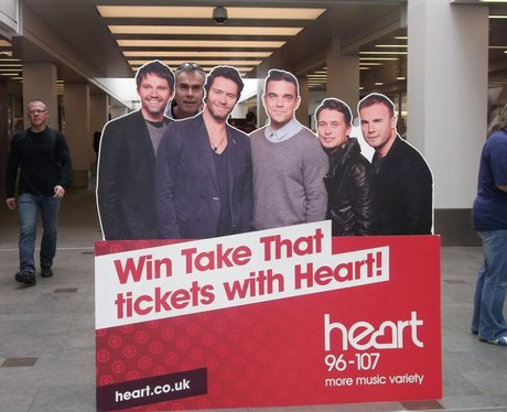 Take That at Regents Arcade