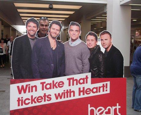 Take That at Regents Arcade