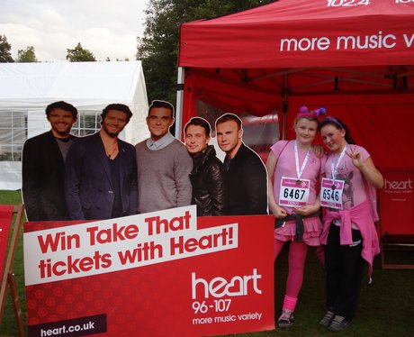 The Heart Angels visited Race For Life in Crawley,