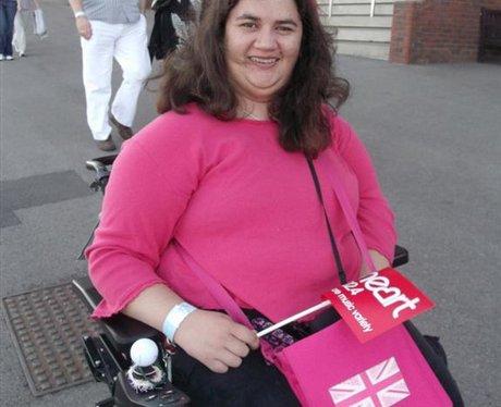 Alexandra Burke at Cheltenham