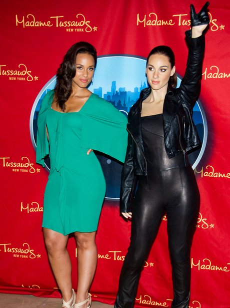 Alicia Keys waxwork