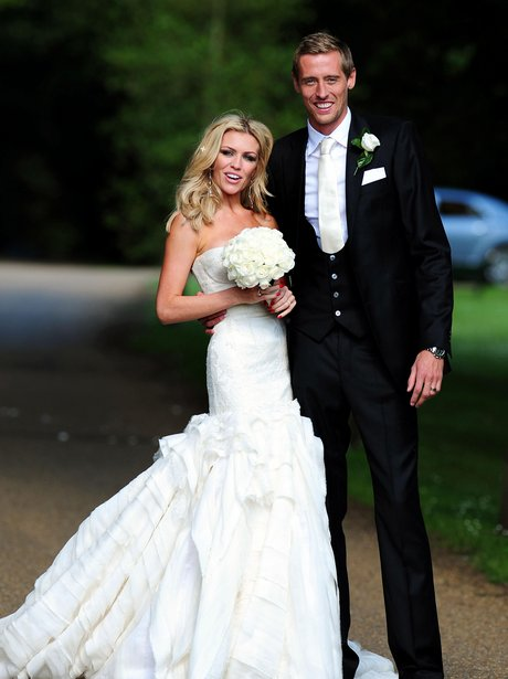 Peter Crouch and Abbey Clancy wedding picture