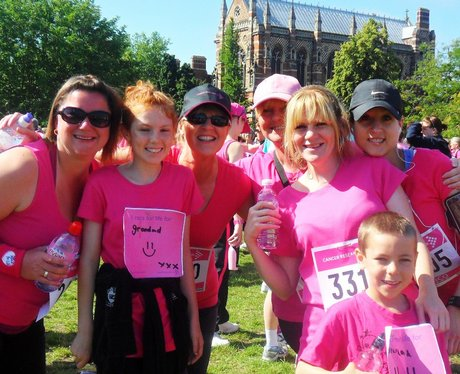 Race for Life in Oxford