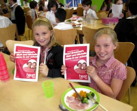 School Dinners at Farley Hill Primary School