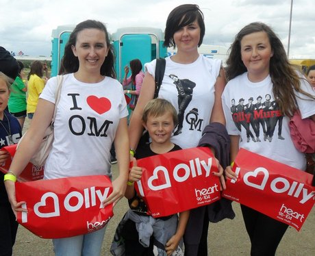 JLS & Olly Murs at Stadium MK