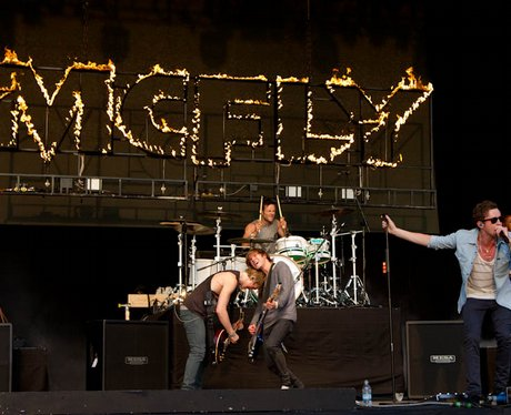 McFly at Chester Rocks