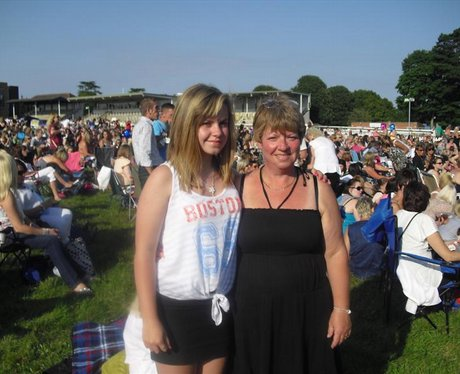 Peter Andre @ Fontwell Racecourse