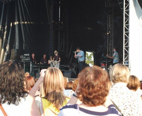 Peter Andre@ Fontwell Racecourse
