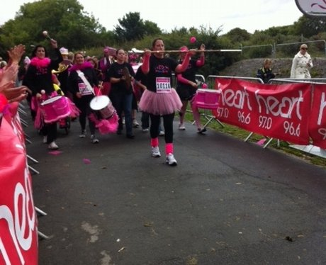 Race for Life in Plymouth ( Central park )