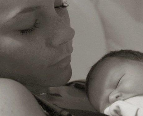 Victoria Beckham with Harper