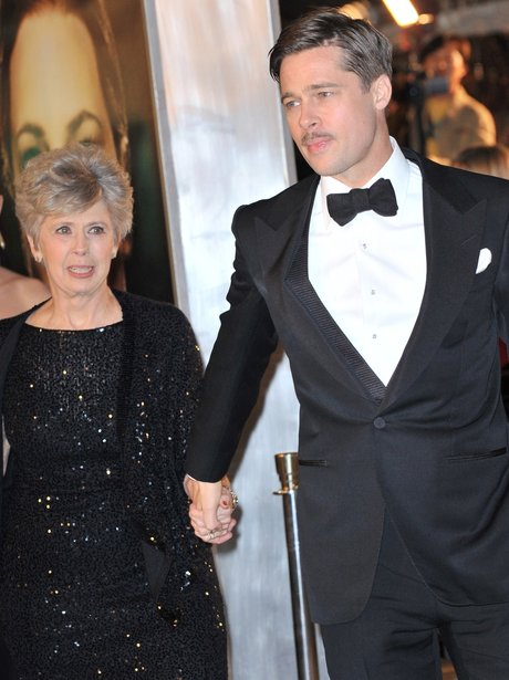 Brad Pitt and mum Jane