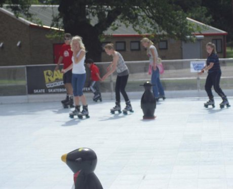 Rawk Roller Rink Launch