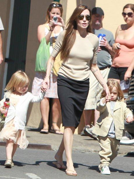 Angelina Jolie fashion