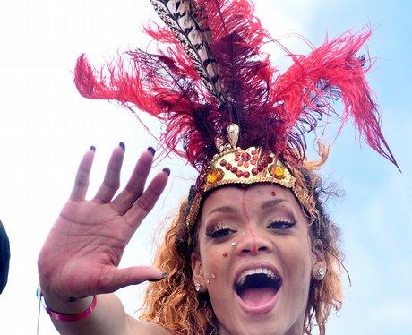 Rihanna in Barbados