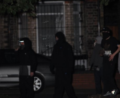 CCTV Image of Liverpool disorder