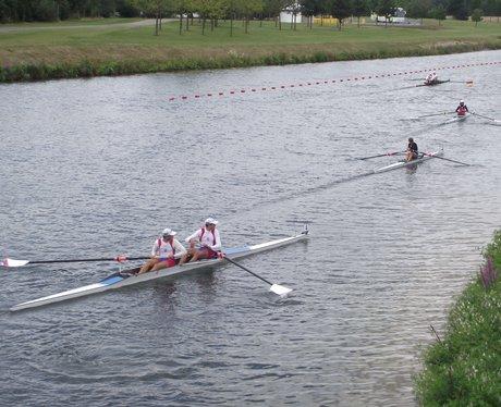 Rowing at Eton Dorney