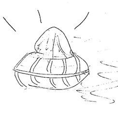 UFO sketch drawings