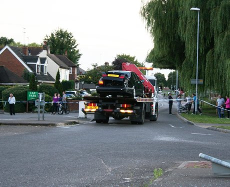 Houghton Regis Lorry Crash