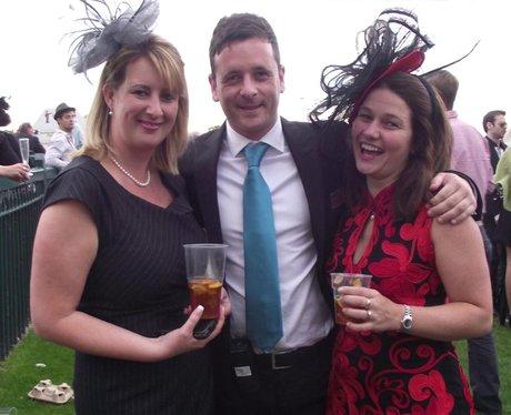 Heart at Bath Racecourse Ladies Day