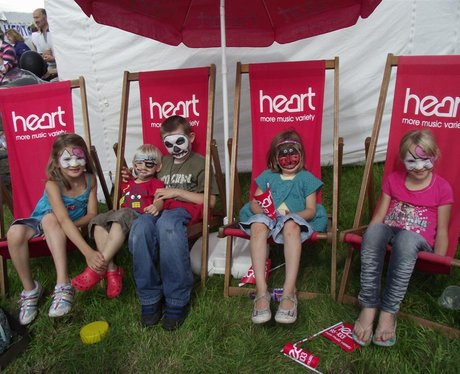 Heart at The Mid-Somerset Show 2011