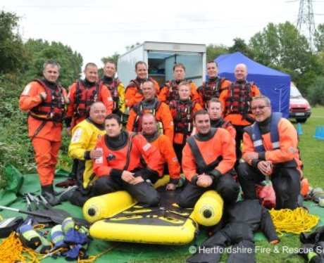 Herts Fire Service Olympic Training