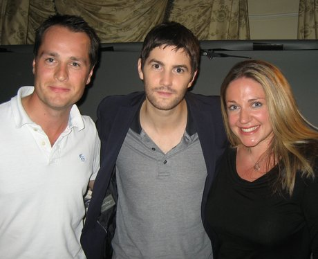 Jim Sturgess with Tom and Charlie