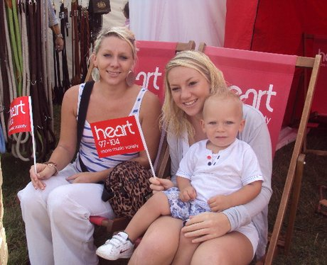 Heart Listeners at The Edenbridge and Oxted Show