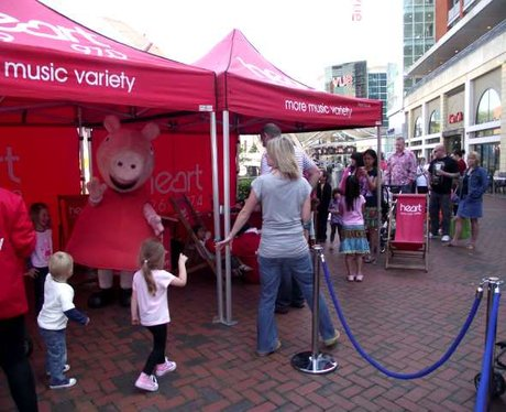 Peppa Pig at The Oracle