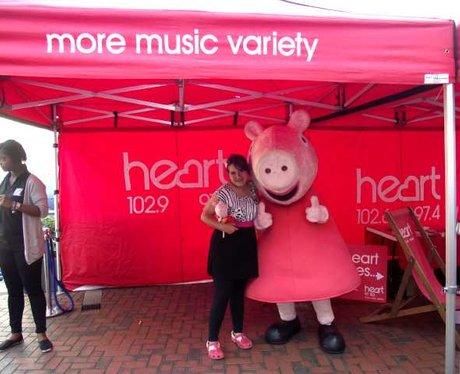 Peppa Pig at The Oracle