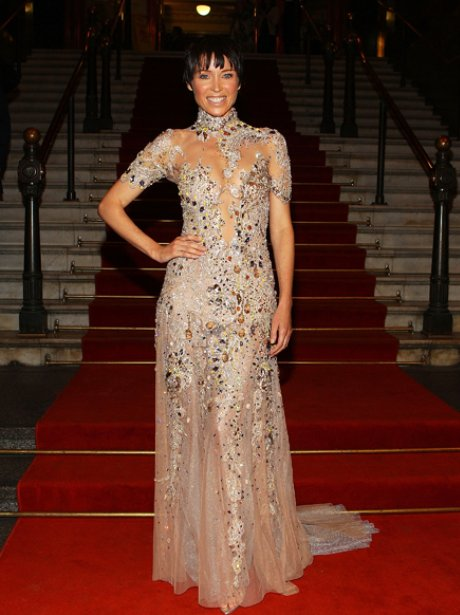 Dannii Minogue on the red carpet