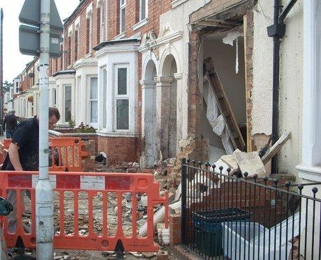 Northampton House Crash