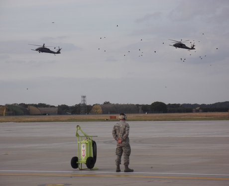 Squadron Helicopters Landing