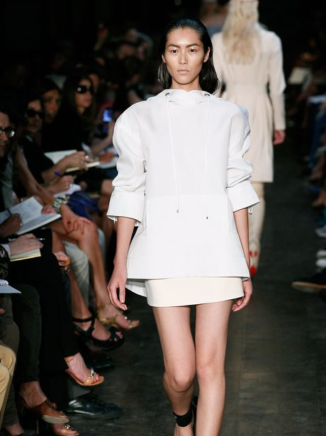 victoria beckham new york fashion week spring 2012