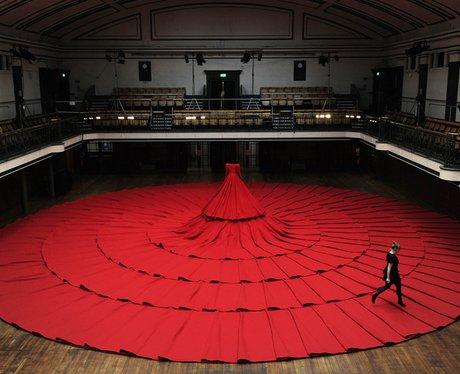 """Art installation 'RedDress"""""""