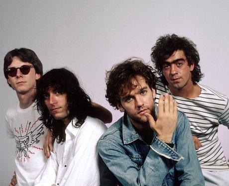 R.E.M-Bill Berry, Michael Stipe, Peter Buck and Mi