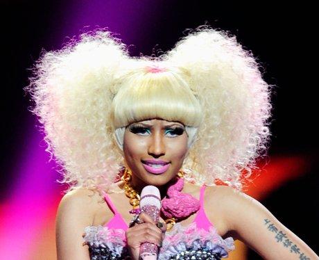 Nicki Minaj singing