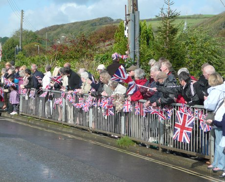 Homecoming parade and freedom of Braunton